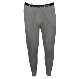 ID Logo Waist Jogging Bottoms, Grey Heather
