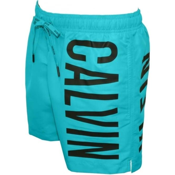 c65e11d15b Calvin Klein Intense Power Casual Swim Short, Bluebird   UnderU