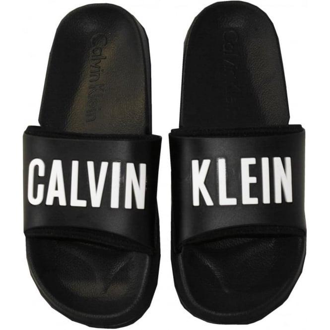 Calvin Klein Intense Power Pool Sliders Black Underu
