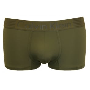 Iron Strength Low-Rise Microfibre Boxer Trunk, Hunter Green