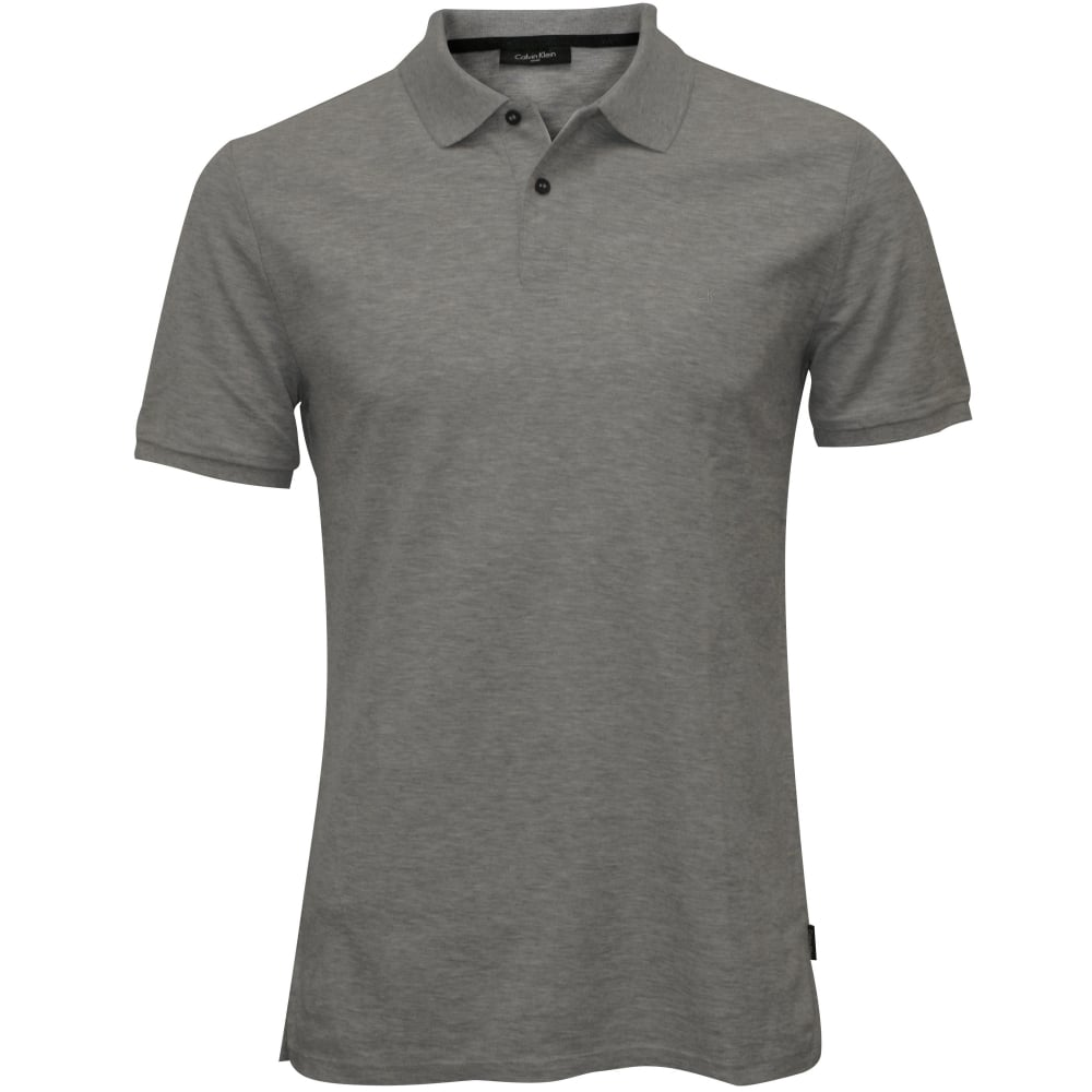 f711c3952d23 Calvin Klein Jacob Refined Pique Chest Logo Polo Shirt