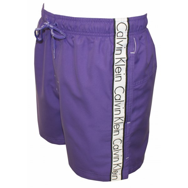 94f659de07c Calvin Klein Logo Tape Drawstring Swim Shorts