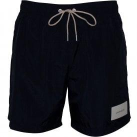 24f91118526 Premium Logo Patch Swim Shorts, Black. Calvin Klein ...