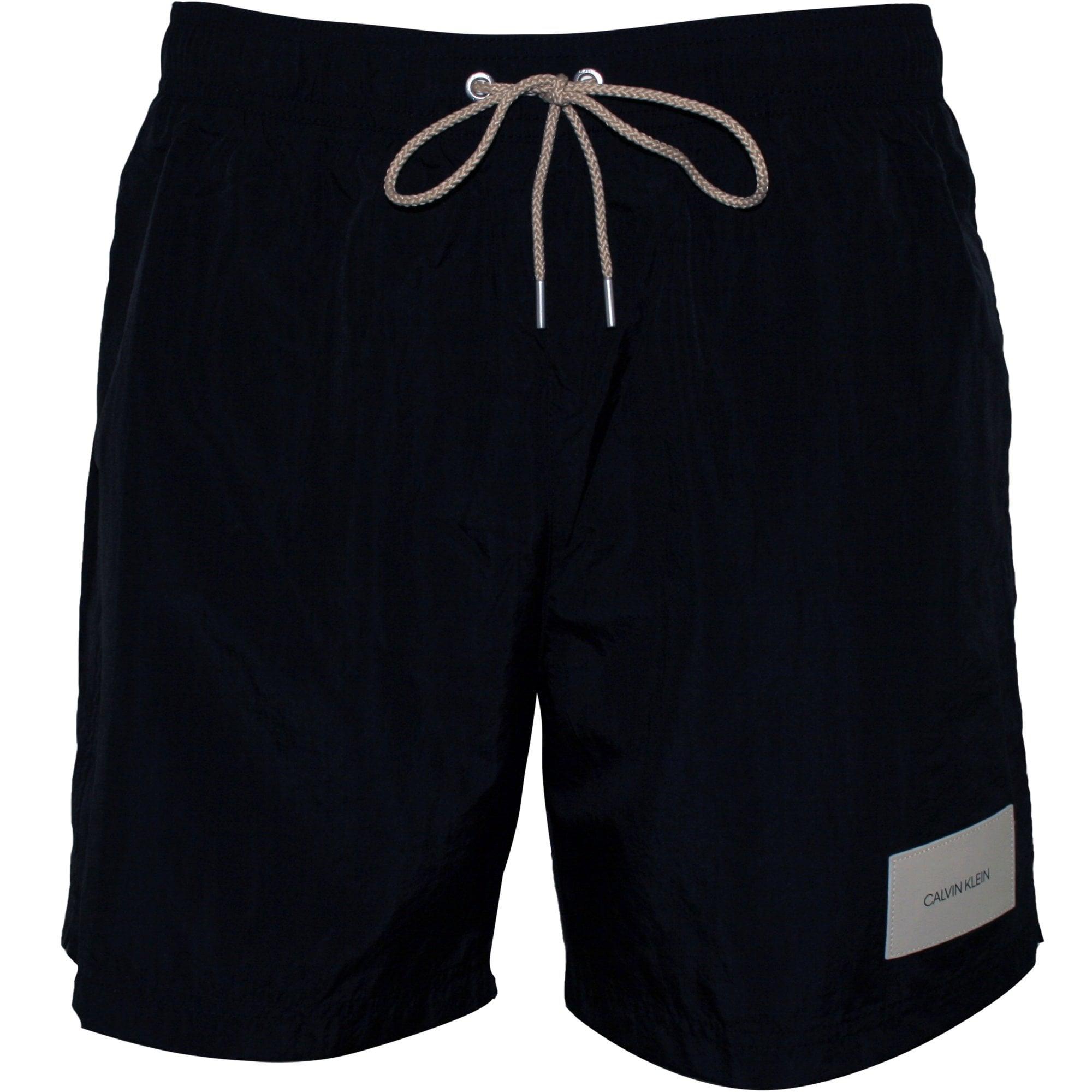 Calvin Klein patch logo swim shorts in