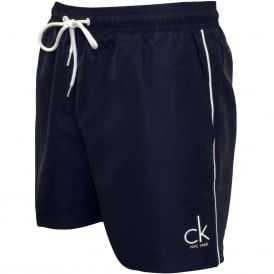 CK NYC Classic Swim Shorts, Navy