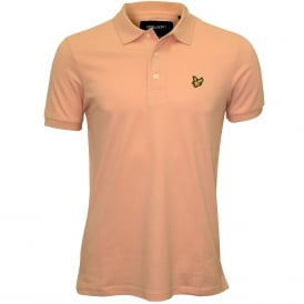 Classic Pique Polo Shirt, Dusty Pink