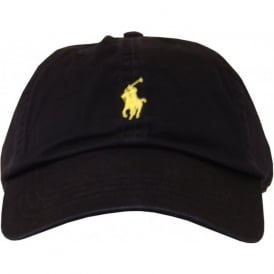 Classic Sport Cap, Navy with Yellow