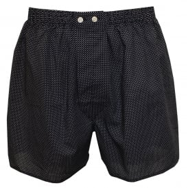 Plaza Spot Boxer Shorts, Navy
