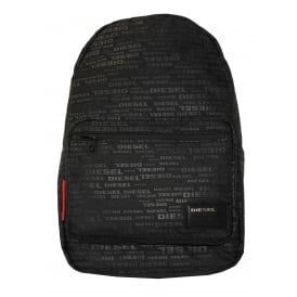 All-over Logo F-Discover Backpack, Black