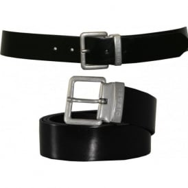 Beres Leather Belt, Black