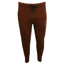Mohawk Logo Jogging Bottoms, Burgundy