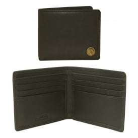 Neela XS Mohawk Leather Wallet, Black