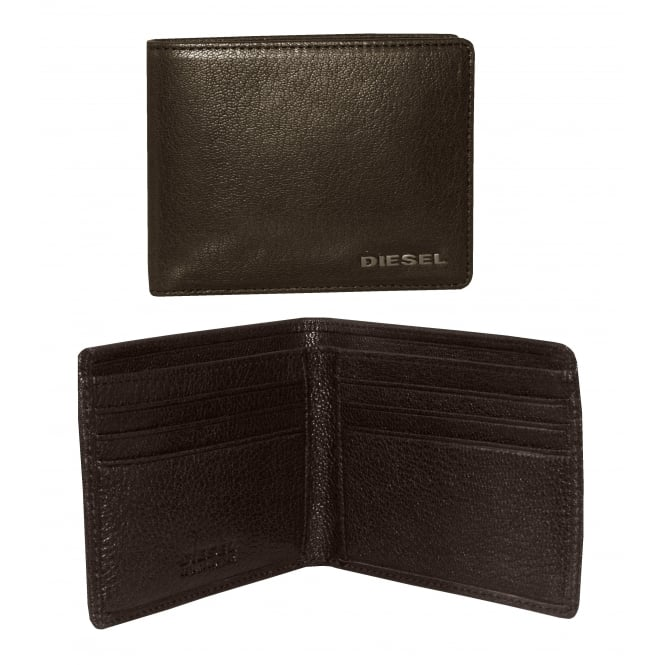 Diesel New Neela XS Leather Wallet, Brown