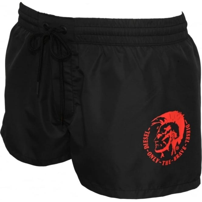 e7e71db08d Diesel Sandy Mohawk Swim Shorts, Black | UnderU