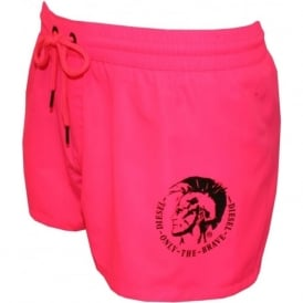Sandy Mohawk Swim Shorts, Pink