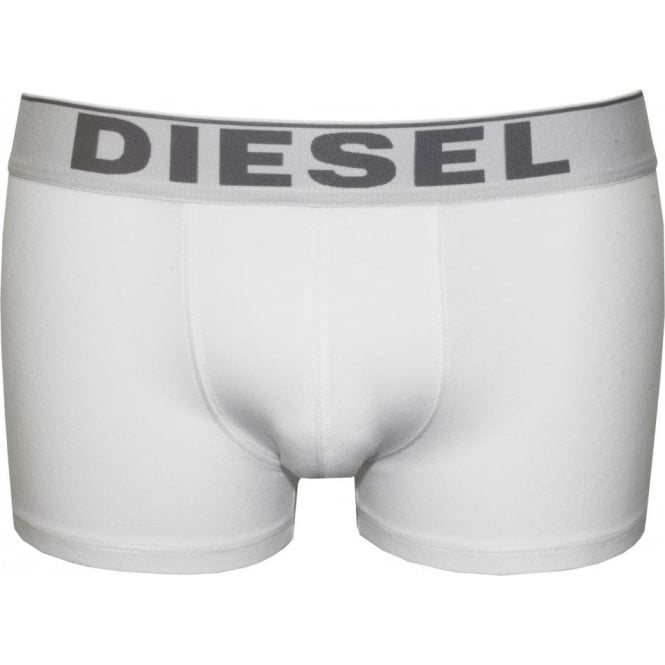 Diesel The Essential Basic Boxer Trunk, White