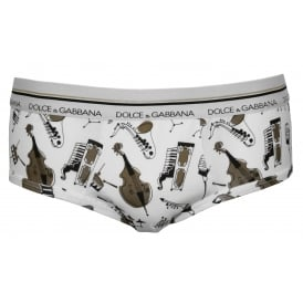 Jazz Instruments Brando Brief, White