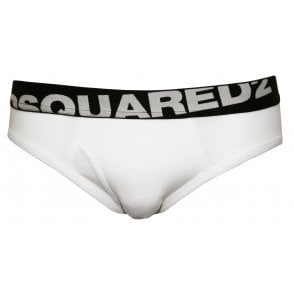 b3e4e75640e0e2 DSquared Rear Cowboy Print Brief, Black | DSquared2 underwear | UnderU