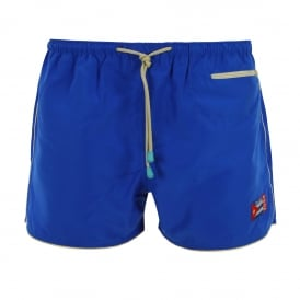 East Hampton Retro Swimming Shorts, Dazzling Blue