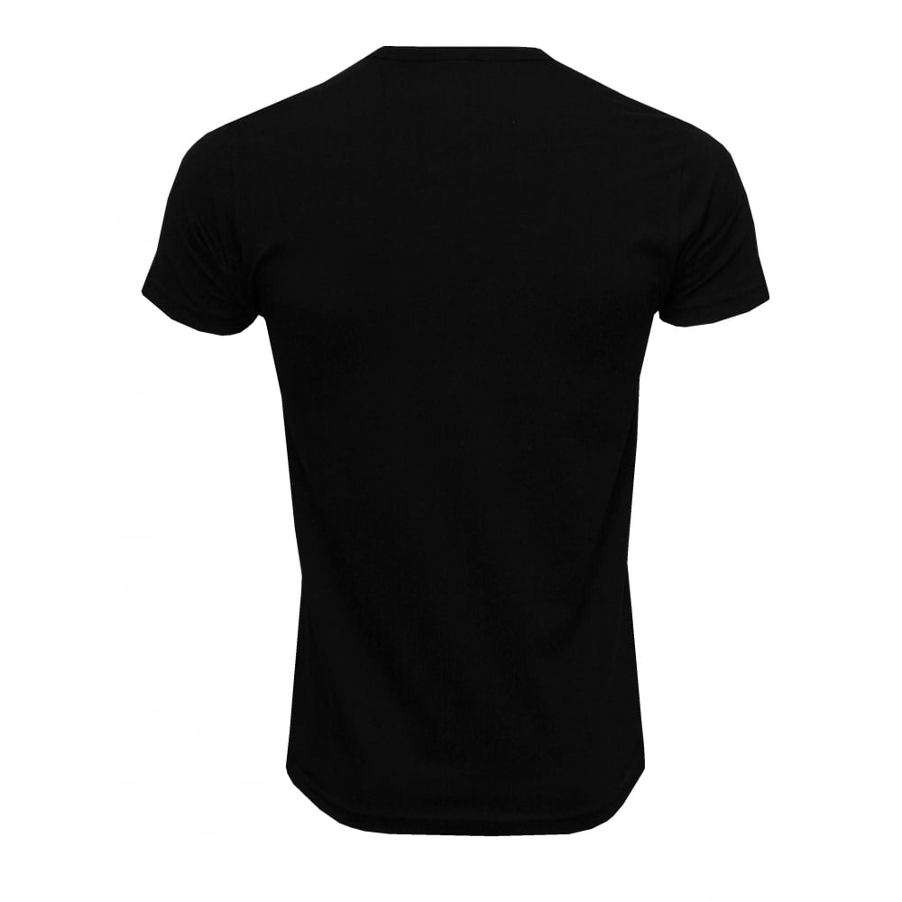 10437362729d5f Emporio Armani Crew Neck Stretch Cotton Basic 2-Pack T-Shirt