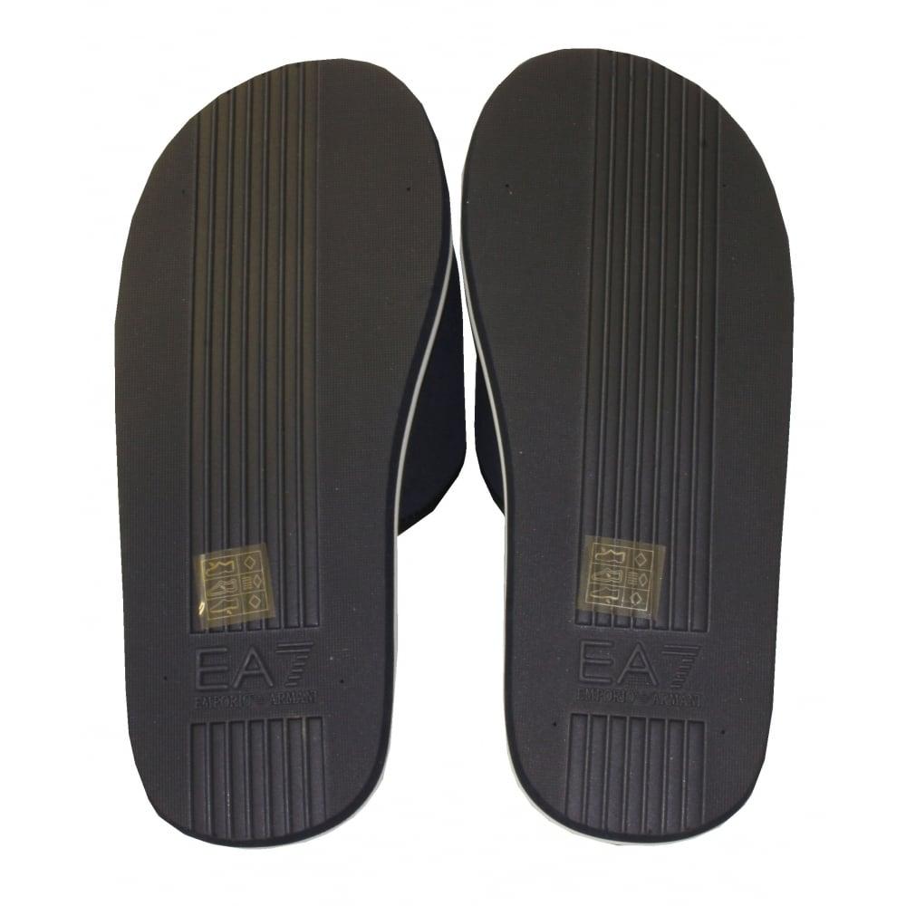 2c15b9e8109 Emporio Armani EA7 Pool Slider Sandals