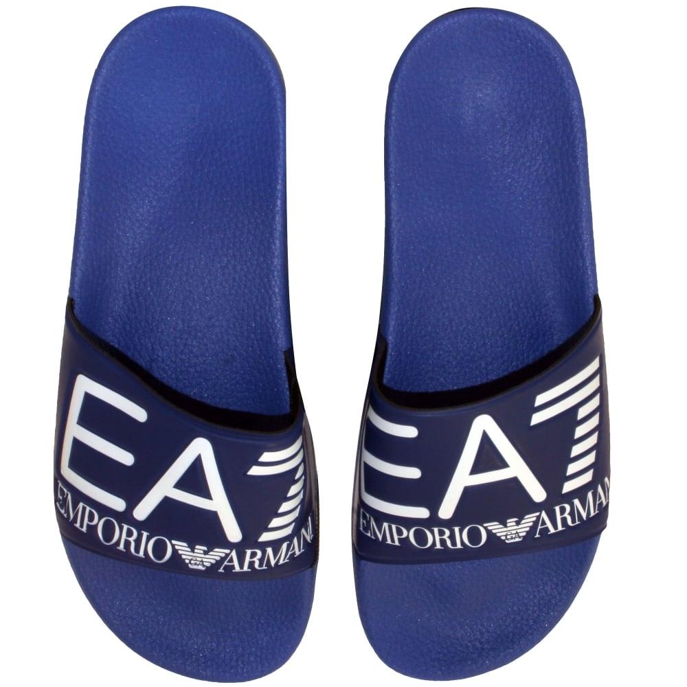 cde5f57bc Emporio Armani EA7 Pool Slider Sandals