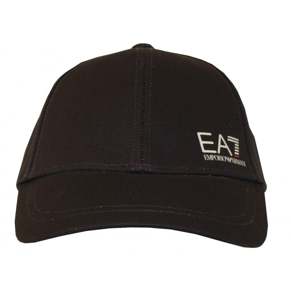 b09e6ee9 Emporio Armani EA7 Side Logo Baseball Cap, Navy | UnderU