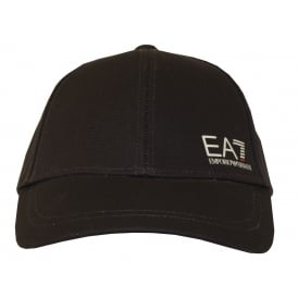 EA7 Side Logo Baseball Cap, Navy