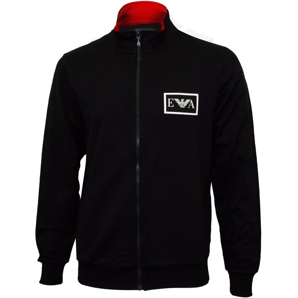 1dc72b295c62 Emporio Armani Iconic Full-Zip Tracksuit Jacket