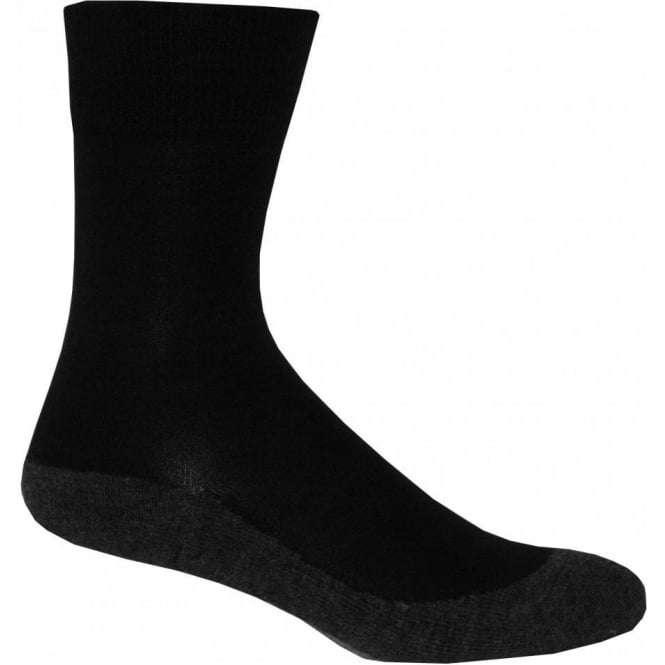 Falke Ergonomic Comfort Casual Socks, Black