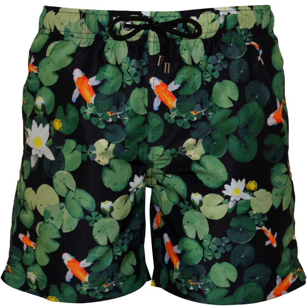 cbbdc3e72448c Franks Yallingup Koi Swim Shorts, Green | Franks swimwear | UnderU