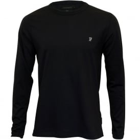 Classic Jersey Long-Sleeve T-Shirt, Navy