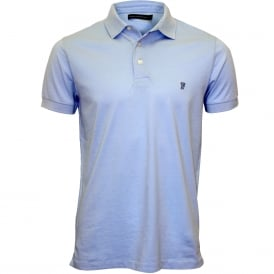 Classic Jersey Polo Shirt, French Blue