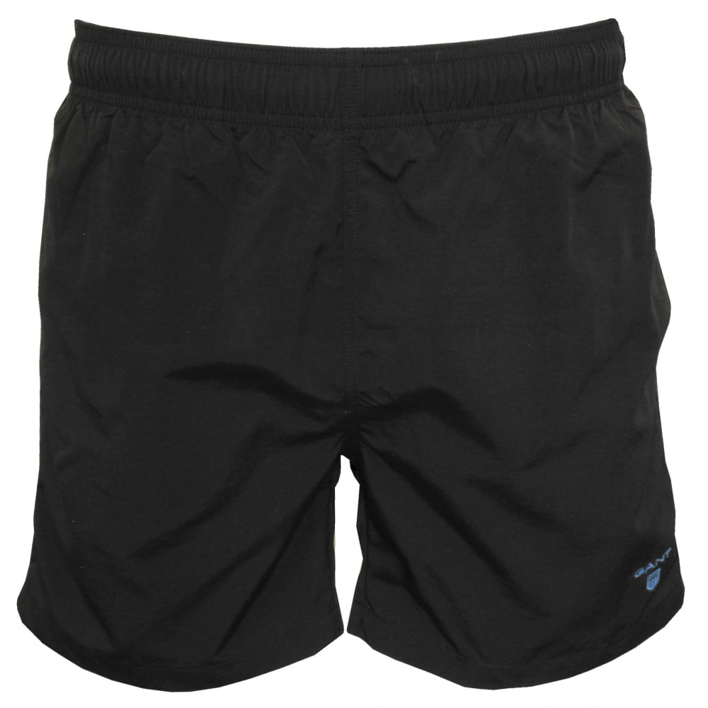22e25e7f3 Classic Swim Shorts, Black with blue Logo