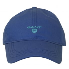 Classic Twill Baseball Cap, Nautical Blue