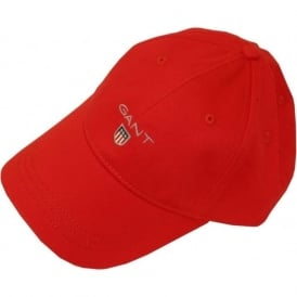 Classic Twill Baseball Cap, Red