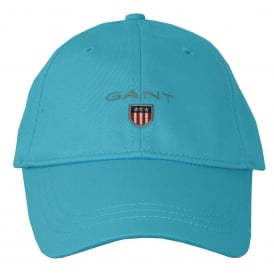 Classic Twill Baseball Cap, Turquoise Blue