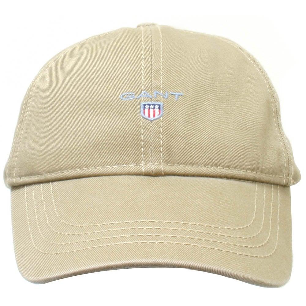 53851ee0 Gant Classic Twill Baseball Cap, Brown | Gant men's caps | UnderU