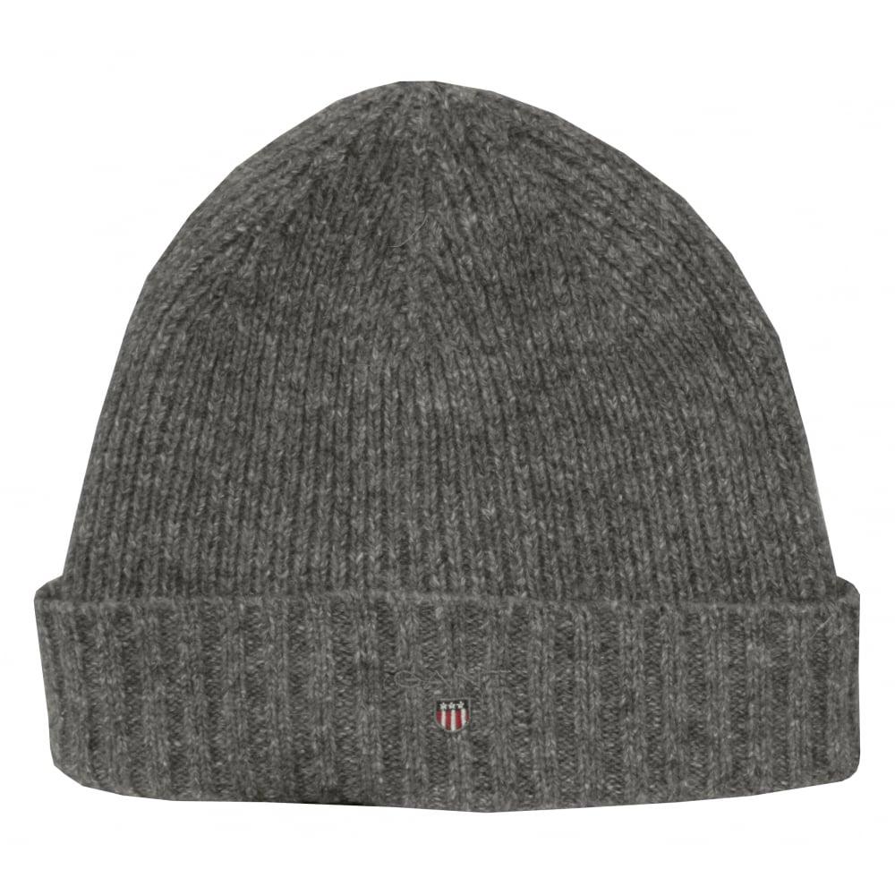 143b1c4951b Gant Fleece-Lined Wool Cotton Mix Beanie Hat