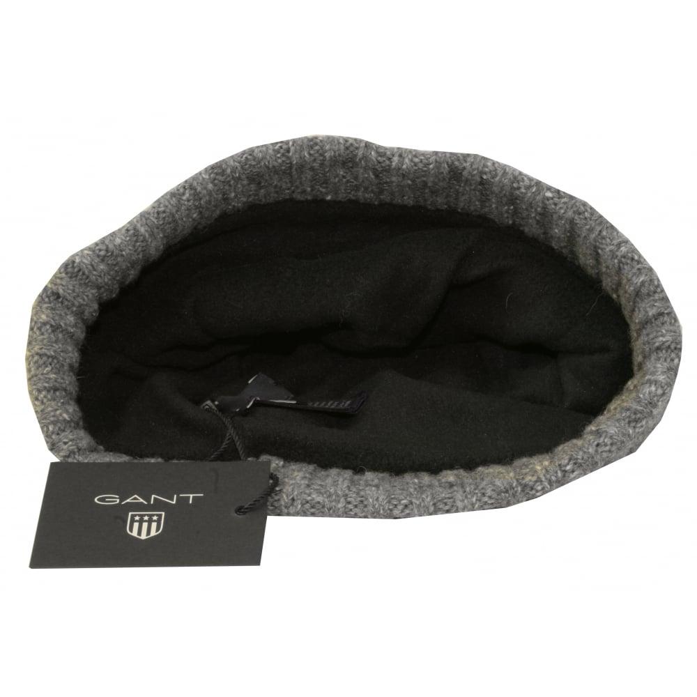 Gant Fleece-Lined Wool Cotton Mix Beanie Hat 51a7621b199e
