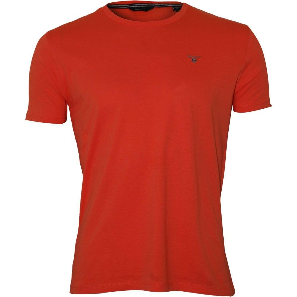 försäljning online köper nu snabb leverans Gant Original Solid Boys T-Shirt, Orange | Gant boys t-shirts | UnderU
