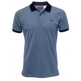 Oxford Pique Polo Shirt, Nautical Blue