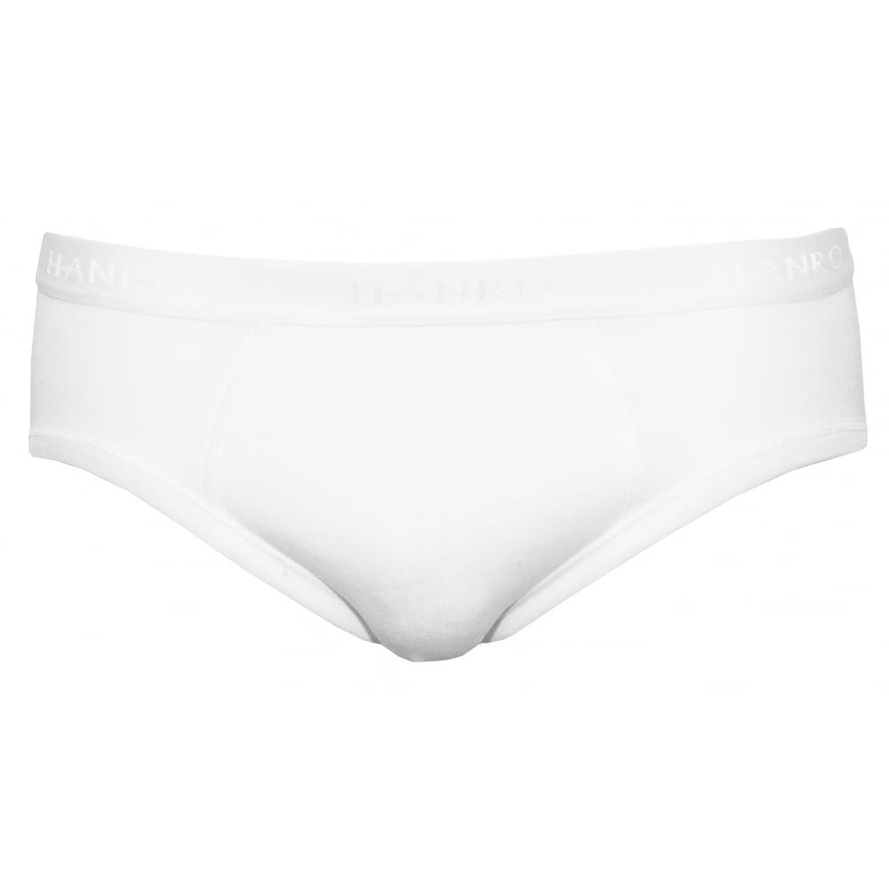 e168d4f2 Cotton Pure Midi Brief, White