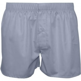 Fancy Woven Boxer Shorts, Light Blue