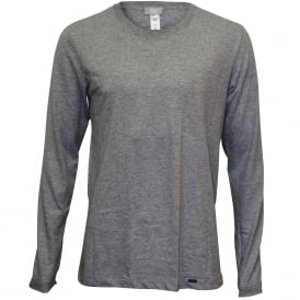 Living Jersey Long-Sleeve T-Shirt, Grey Melange