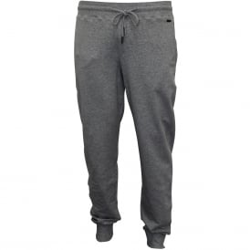 Living Luxe French Terry Jogging Bottoms, Grey Melange