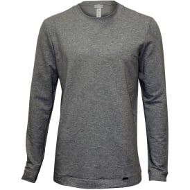 Living Luxe French Terry Sweatshirt, Grey Melange