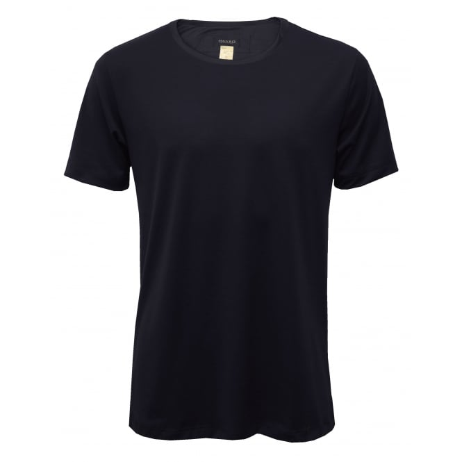 Hanro Night & Day Crew-Neck Short-Sleeve T-Shirt Gift Set, Navy