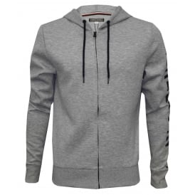 Hilfiger Logo Tracksuit Hoodie, Heather Grey