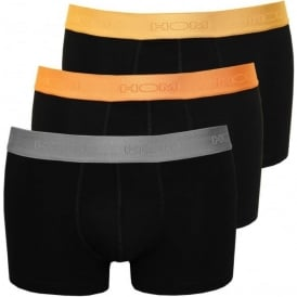 3-Pack 'Winners' Boxer Trunks, Black